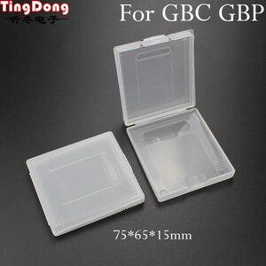 Image 1 - TingDong белая пластиковая игровая карта чехол, высококачественный чехол для картриджей с компьютерной игрой чехол s коробки для Nintendo Gameboy GBC