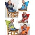 Marca Cintos de Segurança Infantil Cinto de Segurança Cadeira de bebé Portátil Dobrável De Jantar Alimentação Produto Miúdos Cadeira de Jantar Almoço Harness para o Miúdo