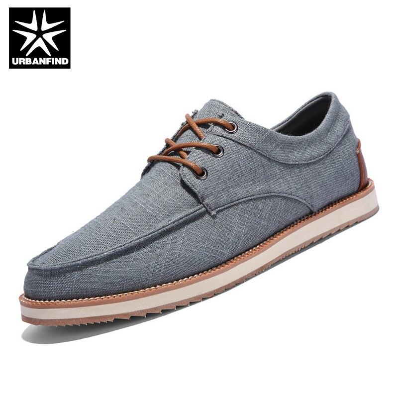 best sneakers 42475 549f5 URBANFIND Conducción Verano Hombres de La Manera Zapatos de Lona de Color  Azul Oscuro Hombre Planos Ocasionales de LA UE 39 44 de Negocios Urbanos y  Calzado ...