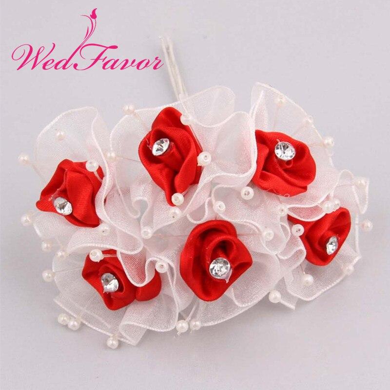 Ribbon Satin Decoration Flowers Wedding DIY Craft Organza