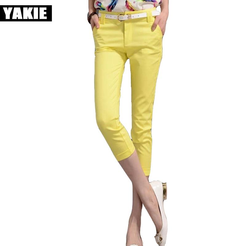 Colored Capri Pants Promotion-Shop for Promotional Colored Capri ...