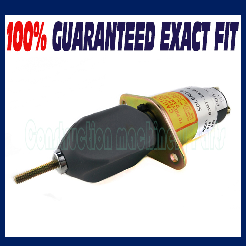 Free shipping! Stop Solenoid for Onan Cummins Generator 0307-2820-01 24V 3924450 2001es 12 fuel shutdown solenoid valve for cummins hitachi