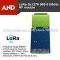 SX1276 inalámbrico LoRa Módulo, 868 MHz y 915 MHz, 3.3 V 3 ~ 5 km, módulo de transceptor de RF front-end de bajo coste basado en SX1276, antena inclu