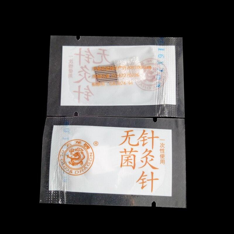 Yunlong 400 PCS sterile acupuncture needle acupuncture facial beauty massage acupuncture needle 0.16*7 mm 100pcs box zhongyan taihe acupuncture needle disposable needle beauty massage needle with tube