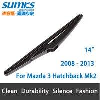 Rear Wiper Blade For Mazda 3 Hatchback Mk2 2008 2013 14