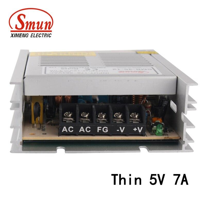 35ワット5vdc出力スイッチング電源110ボルト 220ボルトac入力小さな
