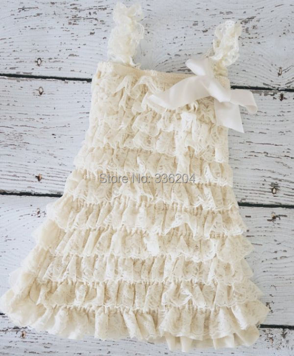 816fa752df3 Free Shipping Western Flower Girl Ivory Baby Lace dress-in Dresses from  Mother   Kids on Aliexpress.com
