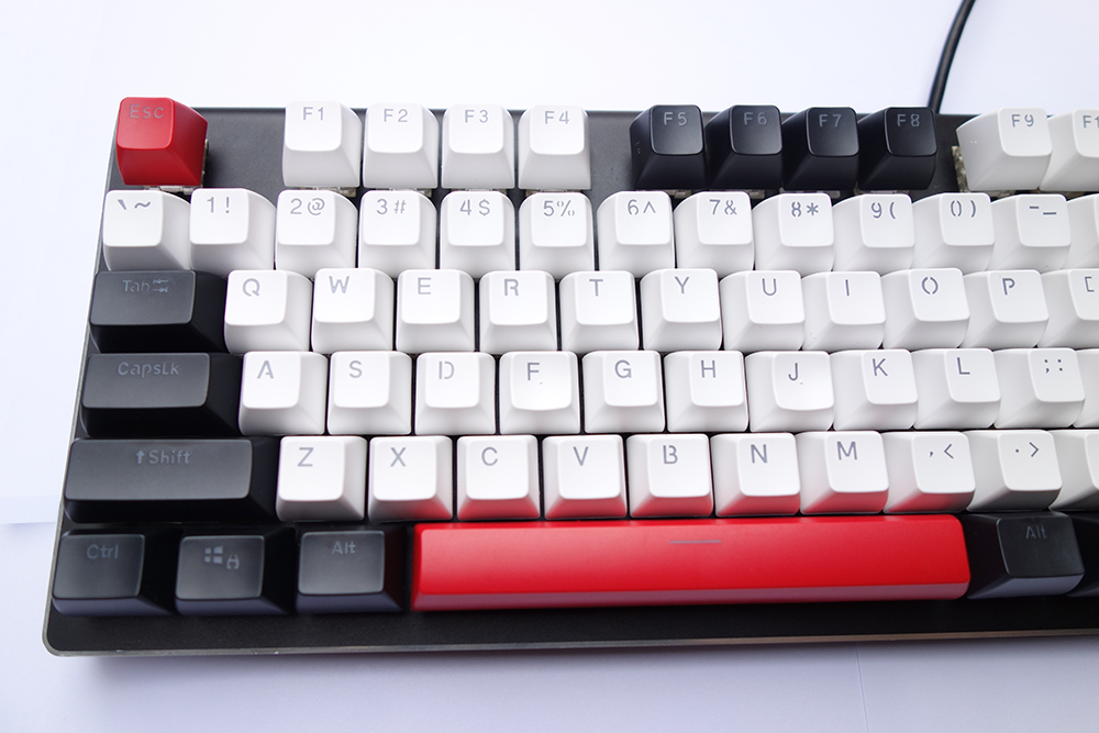 104 key SA Profile Thick PBT Keycaps Double Shot Top Shine Thru ANSI for Cherry MX Switches Mechanical Keyboard Free Shipping-in Keyboards from Computer & Office    3
