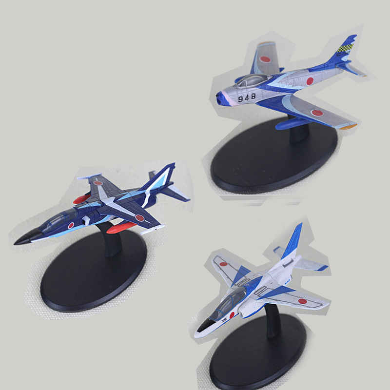 3PCS/SET Mini Plastic Airplane Model Toy Cars World War II Japan Military Scene Ornaments World of Fighter For Collection Model keith d dickson world war ii for dummies®