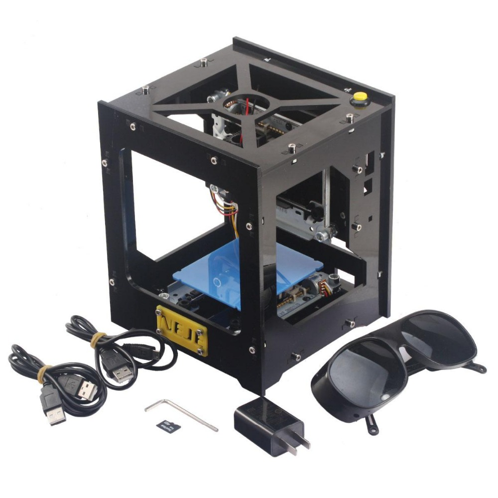 300mv USB лазерный гравер коробка/лазерная гравировка машины/DIY лазерный принтер