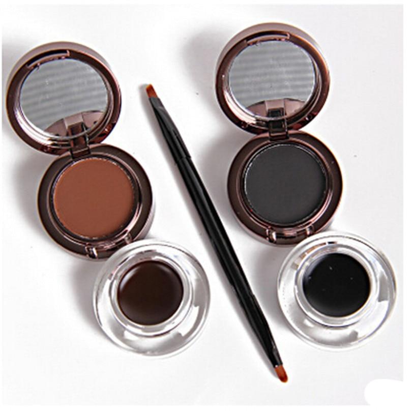 2016 New Eyebrow Powder Eyebrows Eyeliner Gel 2 Color Waterproof