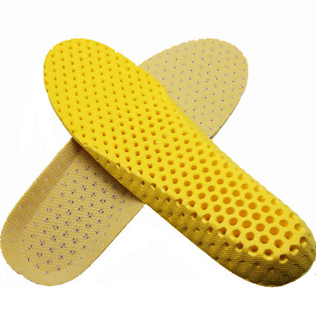 1pair Stretch Breathable Deodorant Shoe Running Cushion Insoles Pad Insert 35-40 2