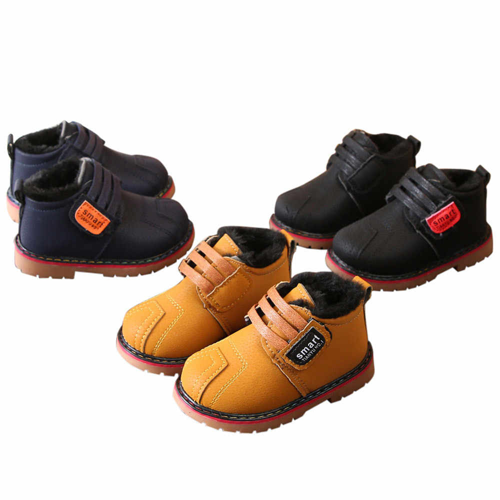 47193b24df822 ... MUQGEW New Winter Children Shoes Infant Toddler Girls Boys Winter Warm  Shoes Snow kids boots Sneakers ...