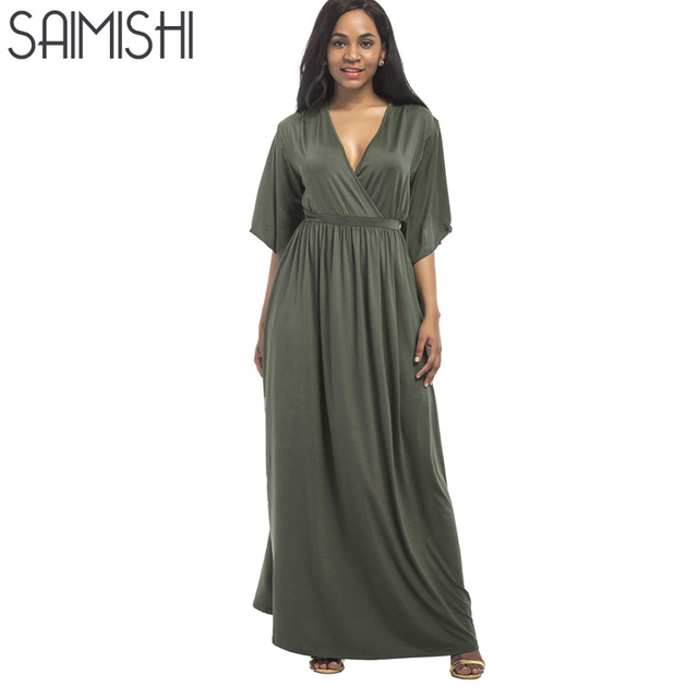 Aliexpress Buy Saimishi Solid Color Plus Size Stretch High