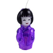 Nicole Silicone Mold Japanese Asian Girl Doll for Candle Chocolate Soap Making Mould DIY Craft Tool