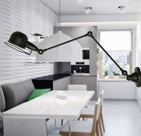 Retro Loft Industrial LED Vintage Wall Lamp light With Long Arm , Wall Sconce Arandela De Pared