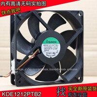 New sunon kde1212ptb2 12025 12 v 2.6 w 12 cm 3 라인 프로젝터 냉각 팬