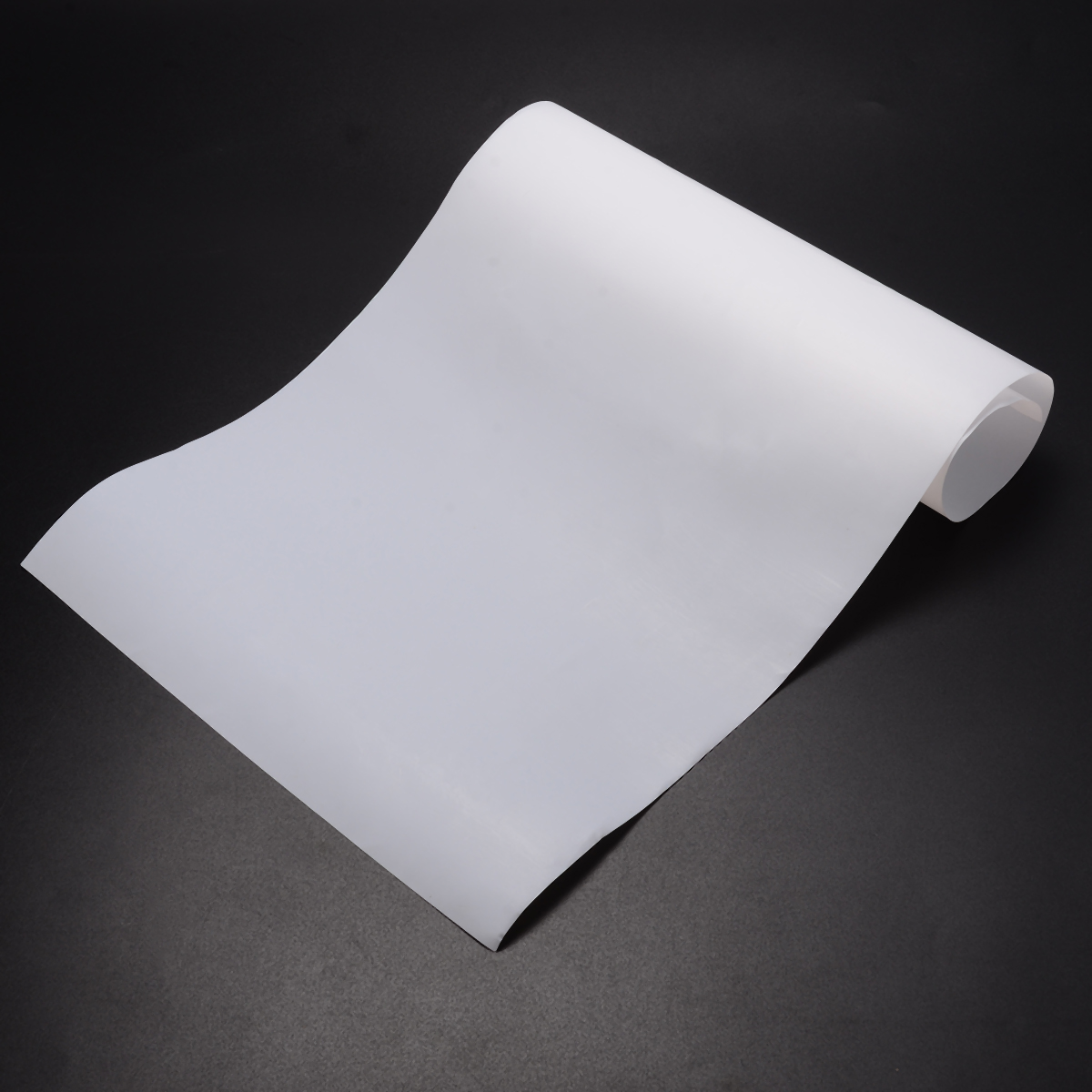 1pc High Strength White PTFE Film PTFE Sheet 500x250x0.3mm With Wear Resistance