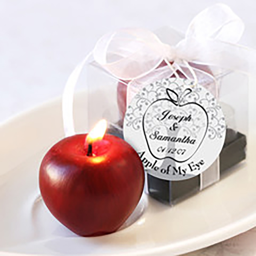 Fruit Home Wedding Candle Favors Craft Christmas Bougies D Coratives ...