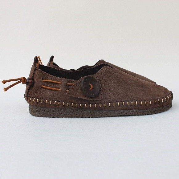 Careaymade Inner and Outer Full leather Flat soled Soft soled Women 39 s Shoes Chinese National style Handmade Cowhide Single Shoes in Women 39 s Flats from Shoes