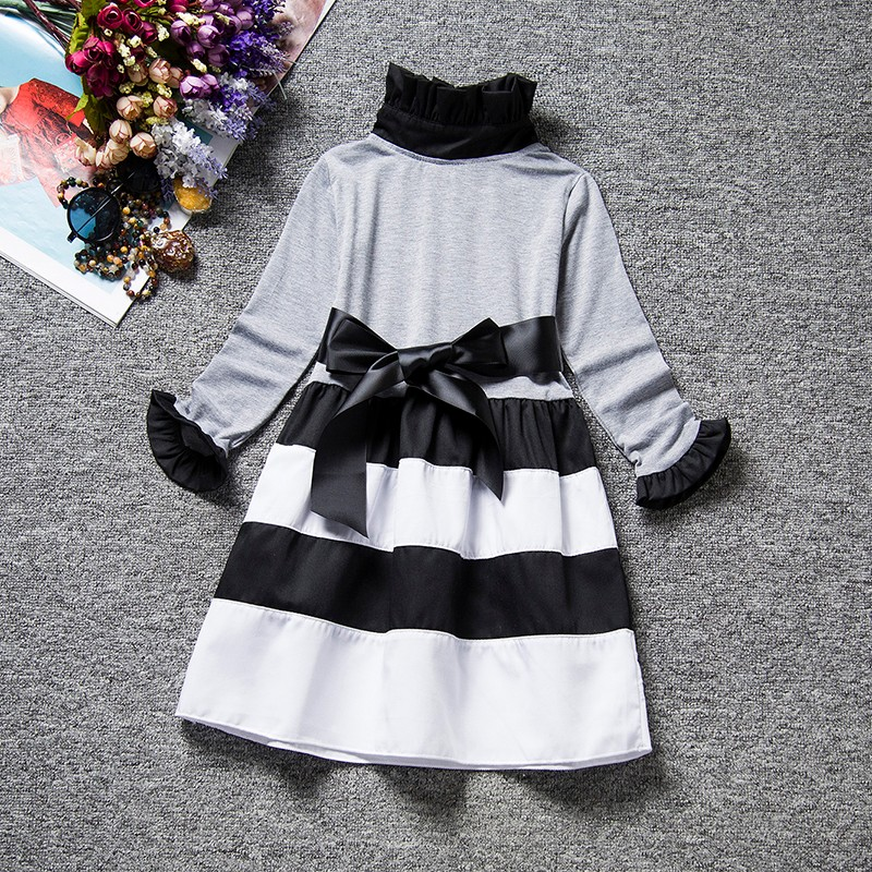 HTB1F79Oa0HO8KJjSZFLq6yTqVXao Spring Autumn Long Sleeves Children Girl Clothes Casual School Dress for Girls mini Tutu Dress Kids Girl Party Wear Clothing