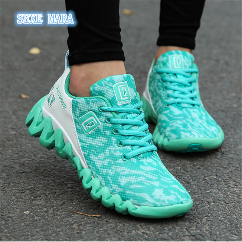 NEW 2017 Sneakers Men and Women Shoes Sports shoes Running shoes for women Breathable Athletic Trainers Outdoor Walking Jogging купить