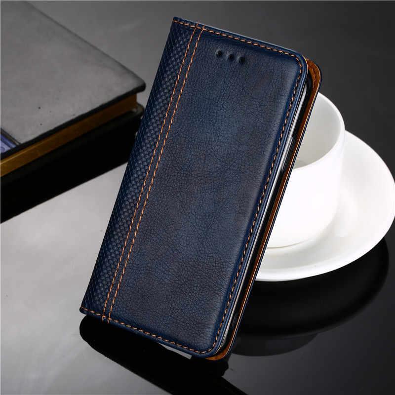 Funda de lujo para Motorola Moto G8 G7 G6 G5S G5 G4 E5 C Plus Z2 Z3 P30 P40 Play One Power X4 Note Funda de cuero para teléfono