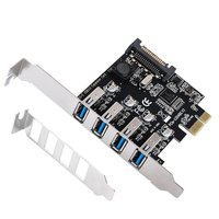 4 Ports USB 3 0 To PCI Express Expansion Card USB 3 0 PCI E Controller