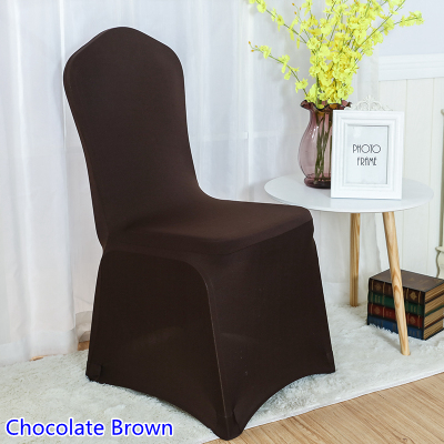 Chair Covers Wish Tommy Bahama Backpack Cooler Blue Colour Chocolate Brown Spandex For Wedding Decoration Lycra Banquet Cover ...