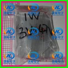 300pcs/lot 30 Values X10PCS (3V -47V) 1W 1N4727~1N4752 zener Diode Assorted kit Assortment & Samples pack