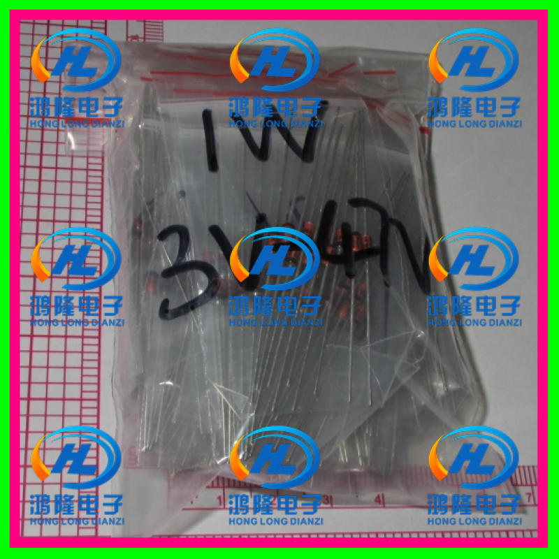 300pcs/lot 30 Values X10PCS (3V -47V) 1W <font><b>1N4727</b></font>~1N4752 zener Diode Assorted kit Assortment & Samples pack image
