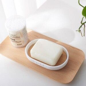 Image 4 - Mydło bambusowe danie dozownik do mydła uchwyt na szczoteczki do zębów mydelniczka akcesoria łazienkowe