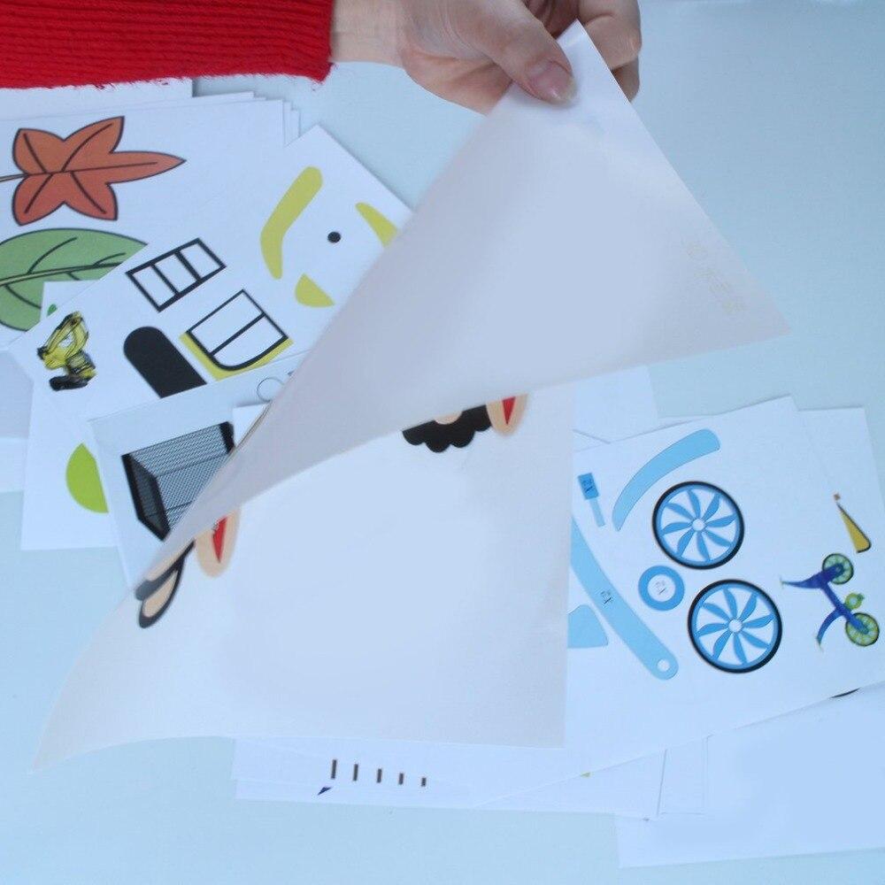 20 sztuk A4 rozmiar dzieci rysunek 3D kopiowanie płyty papieru formy do druku 3D pióro rysunek szablony i Doodle XP najlepszy prezent dla dzieci