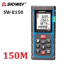 SNDWAY Telémetro láser Láser Medidor de Distancia 120 M 150 M Cinta Métrica de Distancia/Área/volumen diastimeter Telémetro herramientas probador
