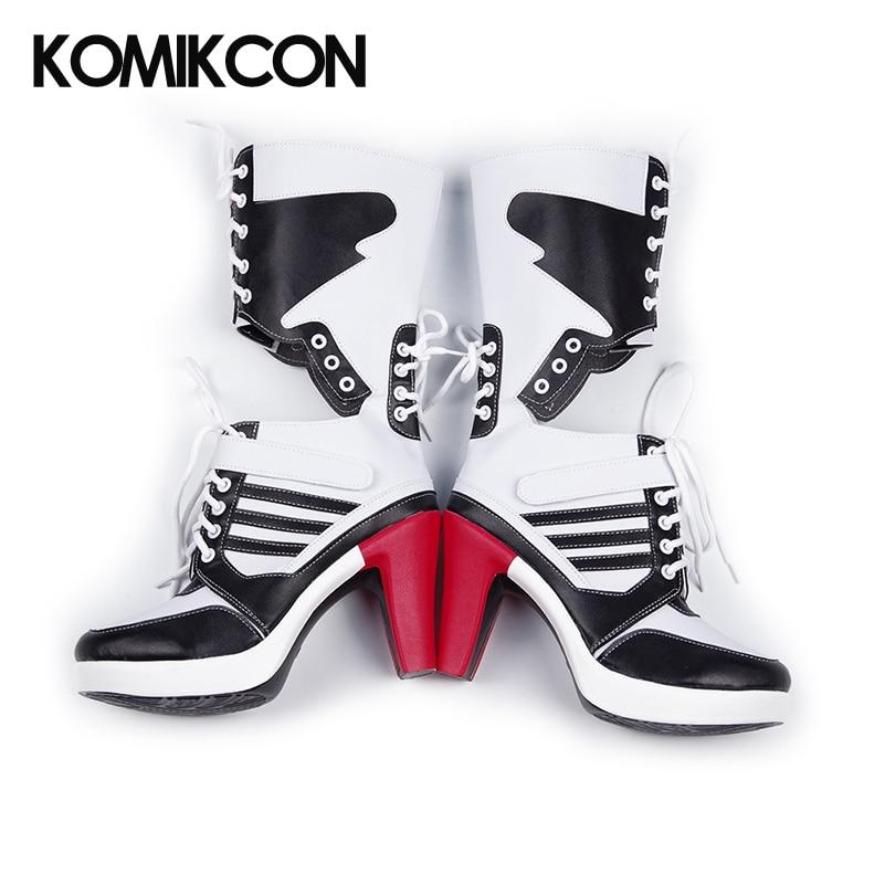 Harley Quinn Cosplay Botas de tacón alto Mujer Adulto Sexy Zapatos - Disfraces