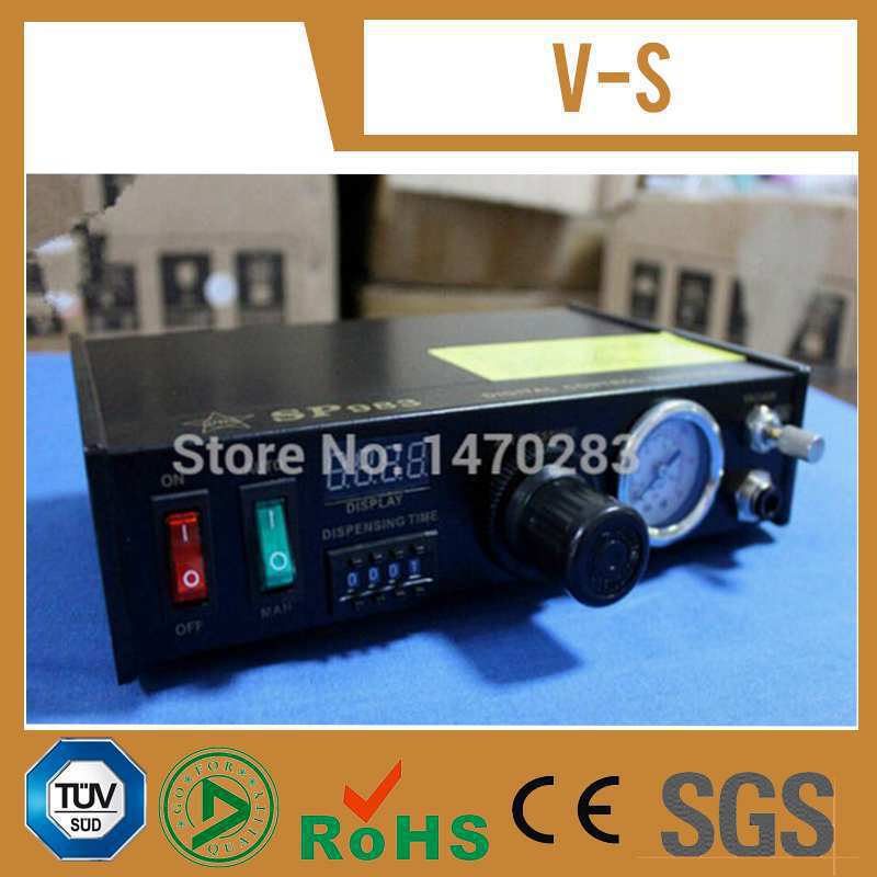 220V Auto Glue Dispensing Solder Paste Liquid Controller Dropper SP983 Dispensing system