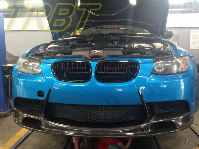E93 M3 Car Styling Front Bumper Lip E90 M3 E92 M3 Carbon Fiber Front splitter Fiber Front lip Spoiler Chin Lip Case For BMW
