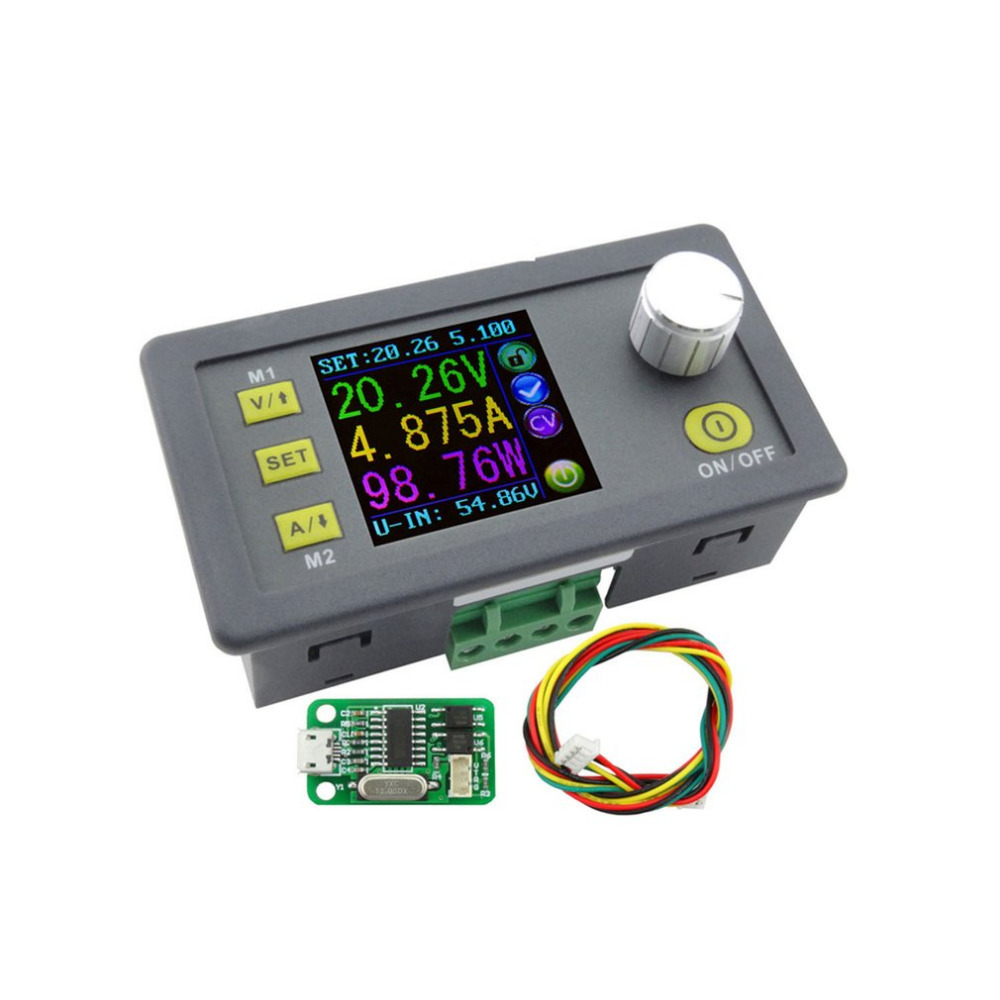 DPS5005 Direct-current Communication Function Constant Voltage Step-down Power Supply Module Voltage Converter Voltmeter constant digital voltage current meter step down dp50v2a voltage regulator supply module buck color lcd display converter