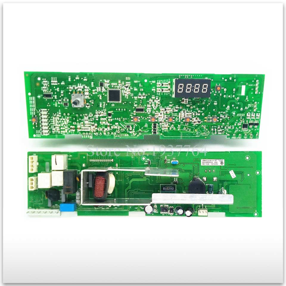 98% new good High-quality for Haier washing machine Computer board XQG50-810 FM XQG50-807 0021800014 board and lock