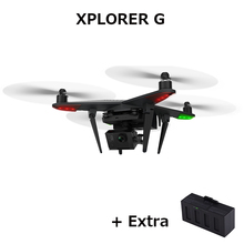 (With extra battery) Original Zero XIRO XPLORER G with 3 Axis Camera Gimbal support GoPro3 and GoPro4 RC Quadcopter