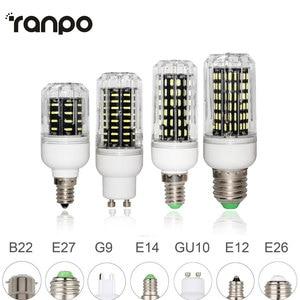 Image 1 - E26 E27 E12 E14 G9 GU10 LED Corn Bulb 4014 SMD 10W 20W 25W 30W chiếu Sáng 36 Đèn LED 72 Đèn LED 96 Đèn LED 138 Đèn LED Ampoule Đèn Trợ Sáng