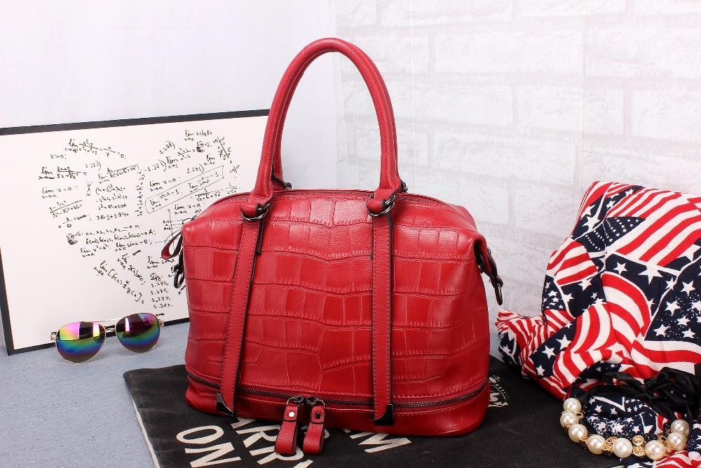 ФОТО 2016 New Fashion Women Bag Single Bag Messenger Bag Genuine Cowhide Leather  Personal Top quality European style