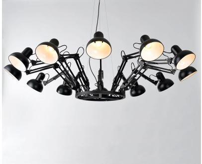 Spider Chandelier Creative Postmodern Contracted Sitting Room Dining Bedroom Lamp Droplight Hotel Project