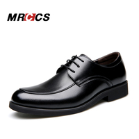 MRCCS Basic Wedding/Dress/Business/  Formal  /Anniversary Charol Leather   Shoes   For Men,Male Classical Black Brown Solid Color Simple