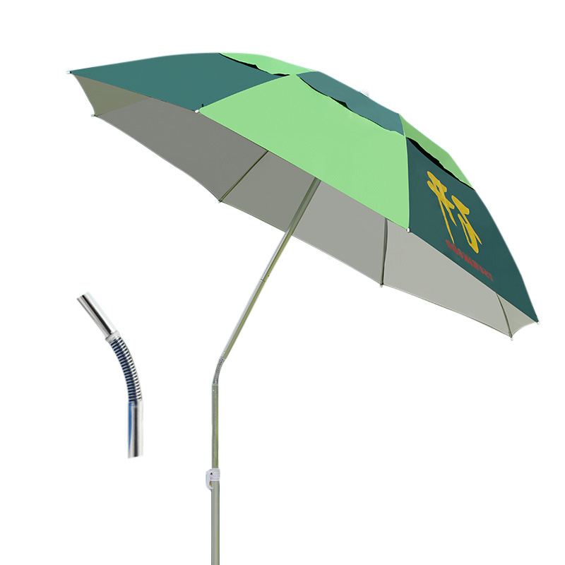 Windproof Patio Furniture Lightweight Patio Umbrellas Windproof Garden Sunshade Umbrella Multifunctional Umbrella