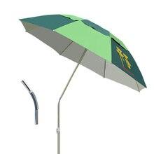 Ветрозащитный patio Мебель Легкий патио ветрозащитный сад зонтик Многофункциональный зонтик