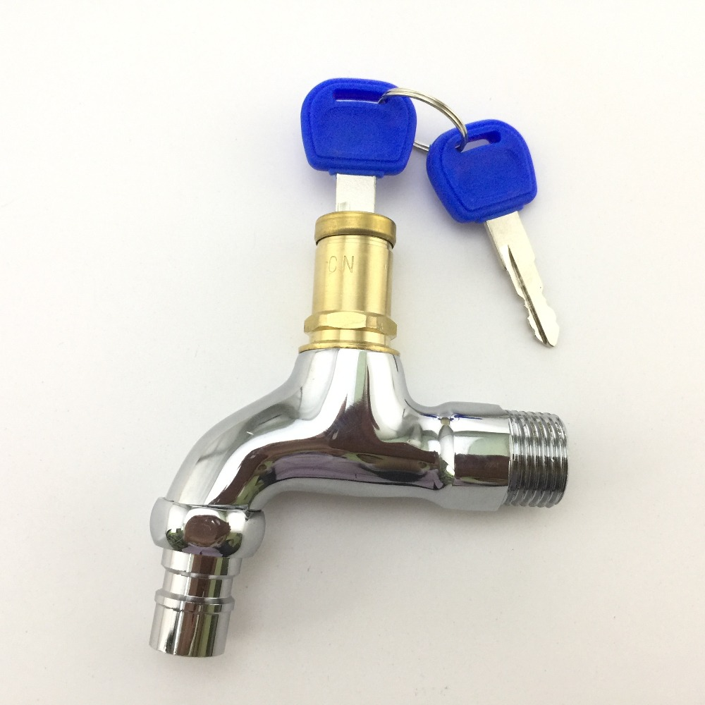 1//2 Inch High Quality Brass Lever Bib Tap With Double Check Valve