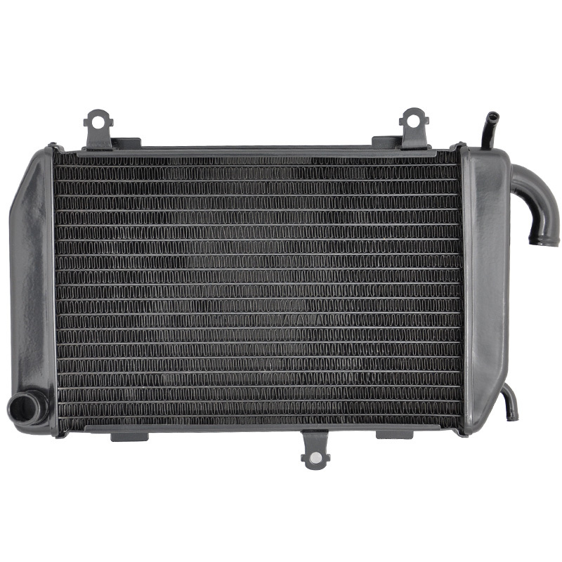 LOPOR Motorcycle Parts Aluminium Radiator For Honda GL1800 2006-2011 GL 1800 06 07 08 09 10 11 Left hand Cooler Cooling NEW