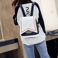 Quadratic Element Card Captor Sakaru Backpack Wings Koro Backpack School Bag Anime Peripheral Backpack Japanese Style