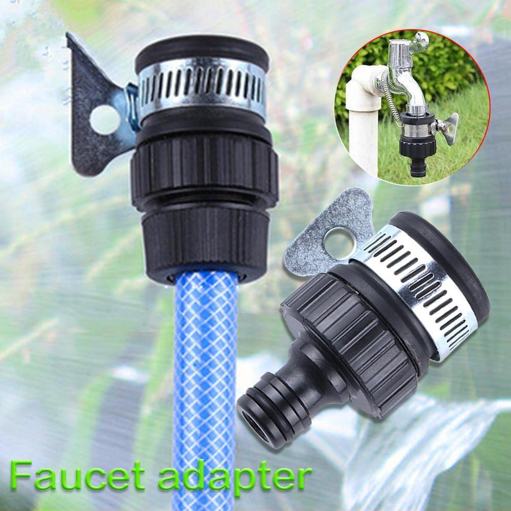 Hot Sale 1pcs Universal Garden Water Hose Tap Connectors Faucet Adapter For Bathroom Shower Irrigation Watering Fitting Pipe
